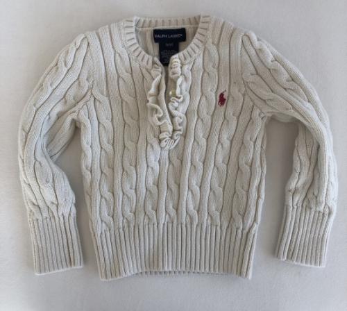 Ralph Lauren sweterek dla dziewczynki 3 latka
