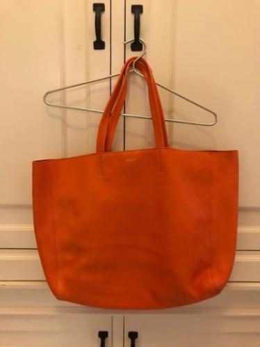 MUMU bag- nowa, pomarańczowa torba typu shopper