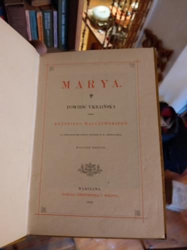 MARYA-Malczewski - 1884 - POZŁACANE