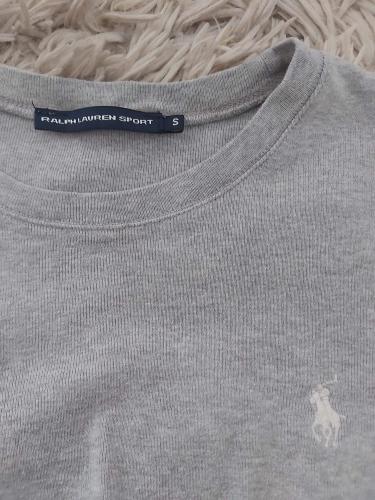 Szara bluzka basic Ralph Lauren